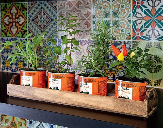 Aprenda a fazer uma mini horta! Elas são uma ótima forma de melhorar os seus hábitos alimentares, além de trazerem mais vida para dentro da sua casa.                                                                                                                                                      Mais