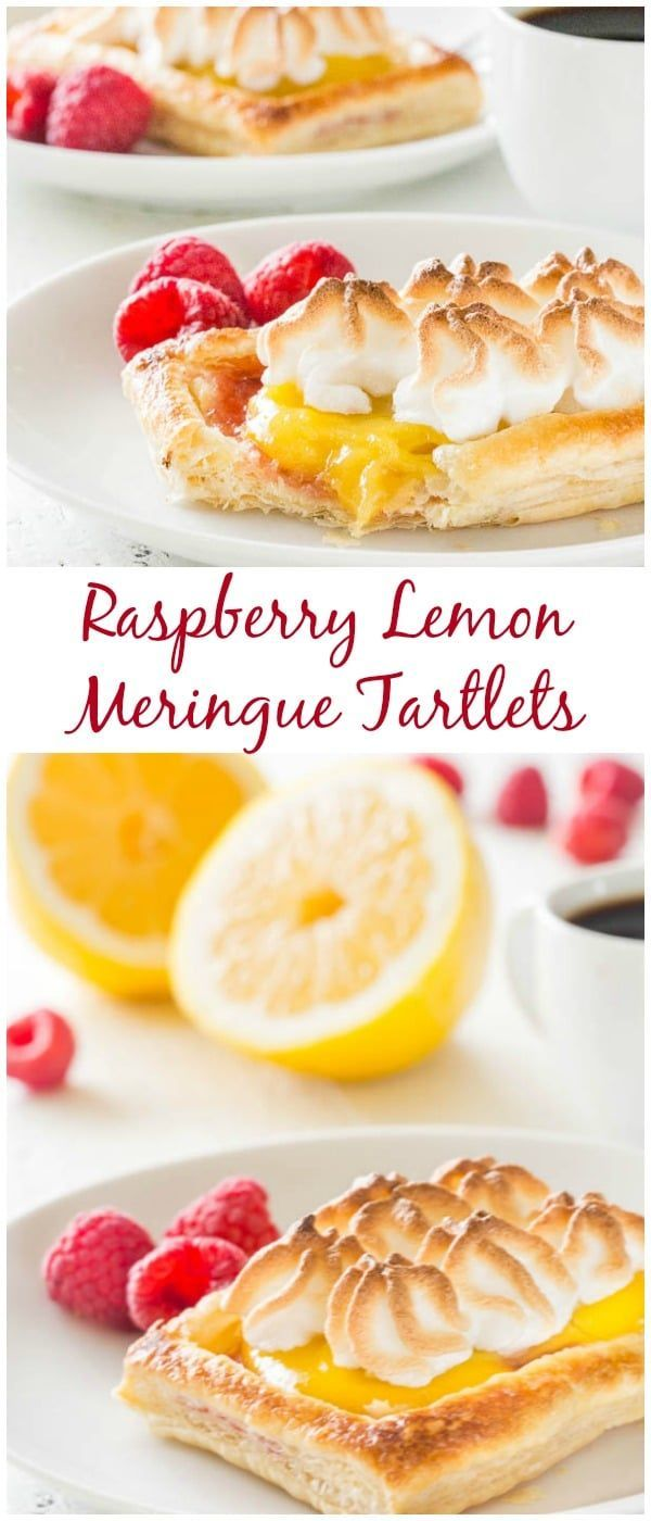 Beautiful, yet easy Mother's day treat! These raspberry lemon meringue tartlets are melt-in-your-mouth light, bursting with sweet and tart flavors in every bite.