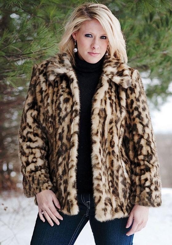 Leopard Faux Fur Coat Miss Selfridge