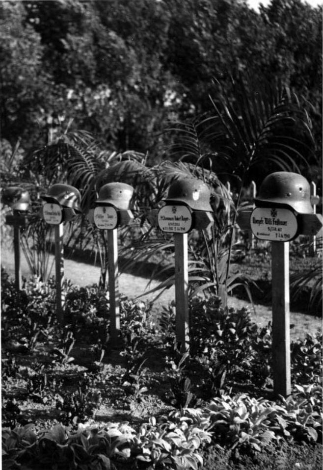 Frankreich , Soldatengräber