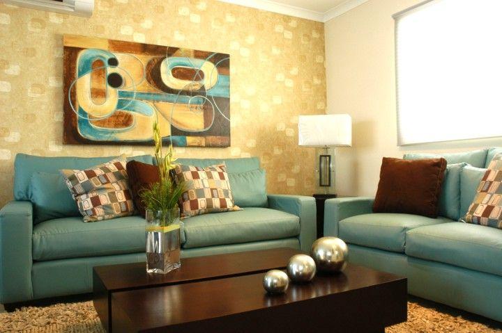 decoracion de interiores salas color chocolate con anaranjado - Buscar con Google