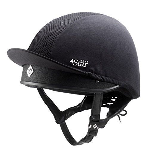 (Product review for Charles Owen 4 Star Jockey Skull Riding Helmet).   - The Charles Owen 4Star Helmet is designed for the extreme situation. The Charles Owen 4Star Helmet is certified to the four top international standards: CE marked to BSEN1384; SEI certified to ASTM F1163-15; SNELL certified to SNELL E001; and BSI Kitemarked to the newly enhanced PAS015:2011. A...