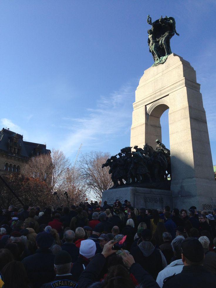 Remembrance Day, Ottawa, November 11, 2014