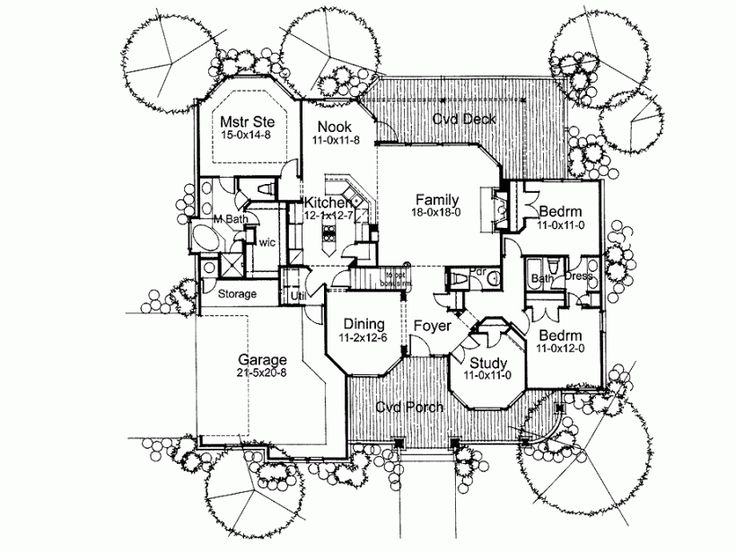 17 Best Images About House Designs Blueprints