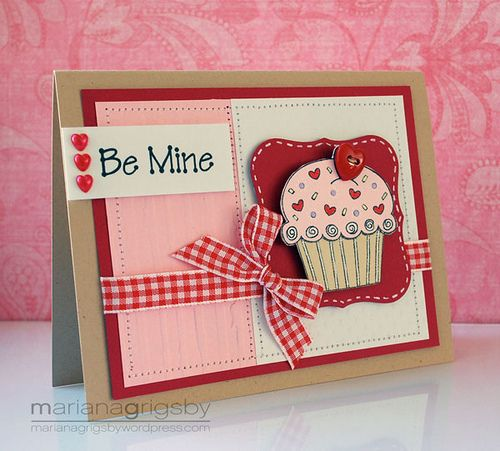 563 best images about Cards Cupcakes – Cupcake Valentine Card