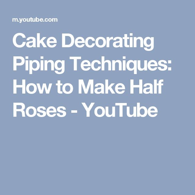 Cake Decorating Piping Techniques How To Make A Plume Border : 1000+ ideas about Piping Techniques on Pinterest Piping ...
