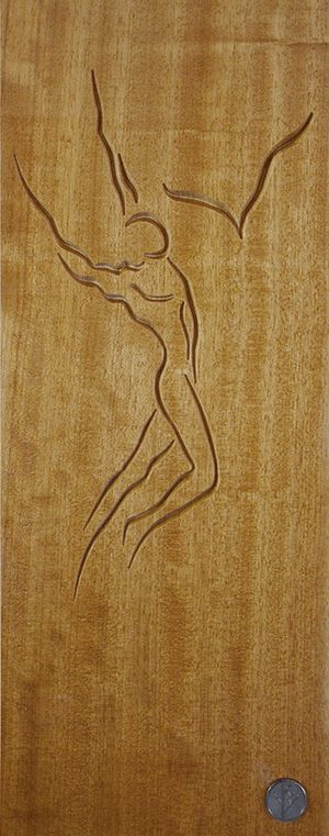 DrevoDesigns- Prometheus -Iroko wood