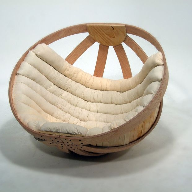 Cradle Lounge Chair >> I do not think I would ever leave this chair...