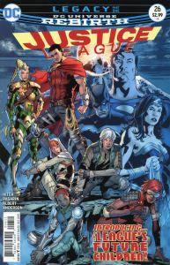 Mild Mannered Reviews  Justice League #26