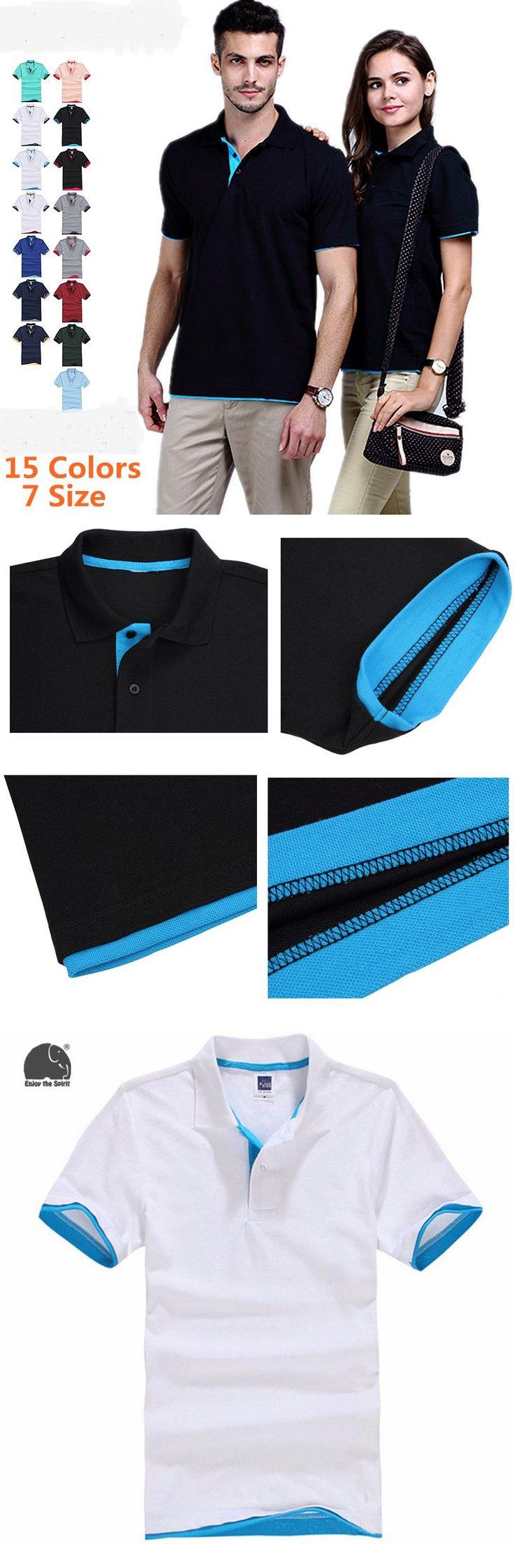 EnjoytheSpirit Brand Clothing New Men Polo Shirt Men Business & Casual Solid Male Polo Shirt Short Sleeve White Polo Shirt