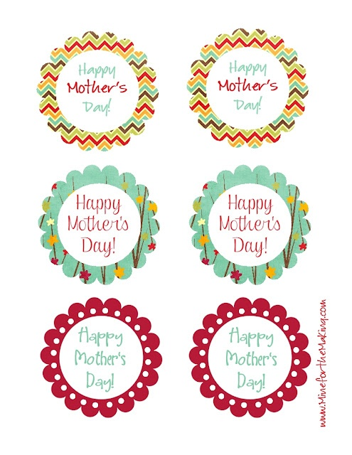 Mother's Day tag printable from @Mineforthemaking. Free download to MFTM readers!