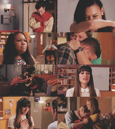 Carol and Mr Shue is where I lost it most. #Glee #TheQuarterback