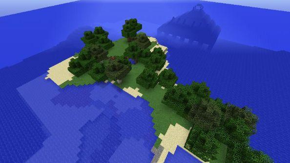 Minecraft seed 2463335533919779154