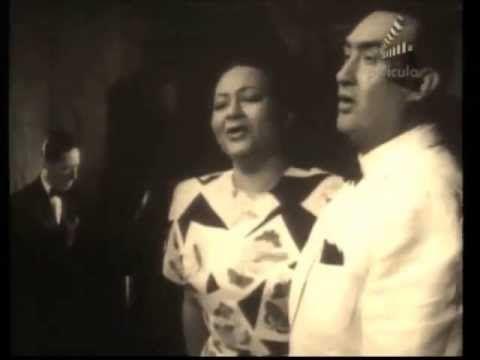 TOÑA LA NEGRA Y PEDRO VARGAS: PALMERAS - YouTube