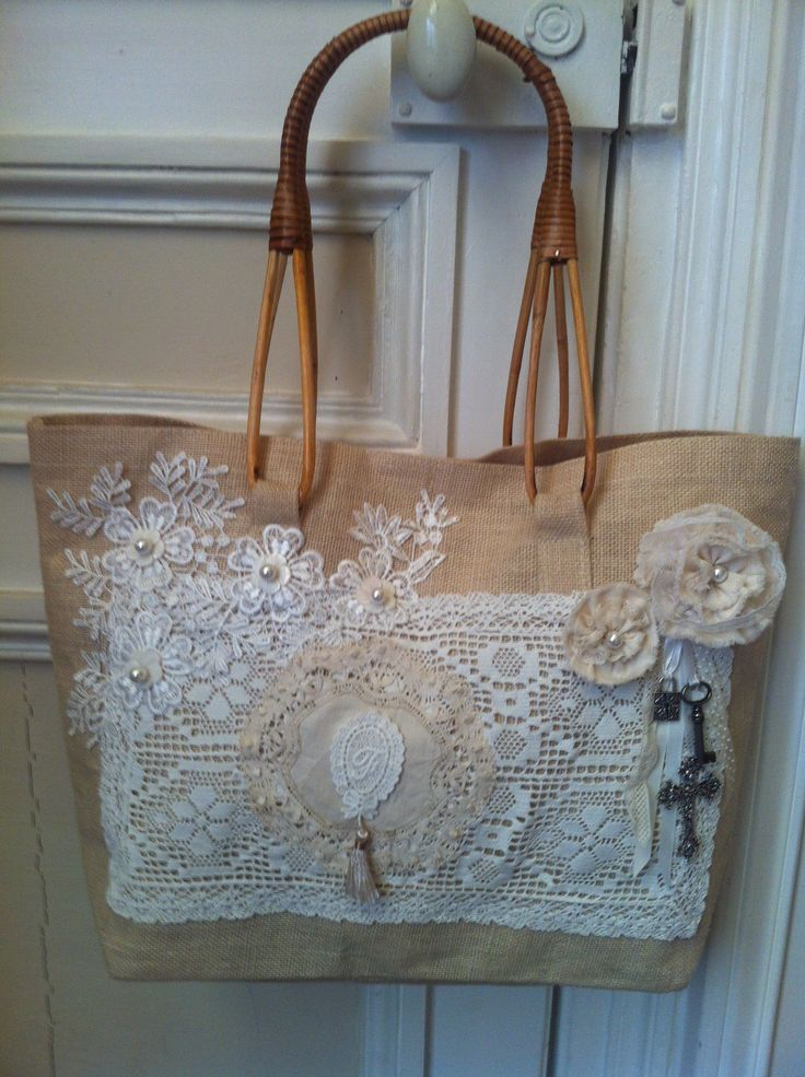 Shaby Chic 's spirit bag Created by Florence Duburque