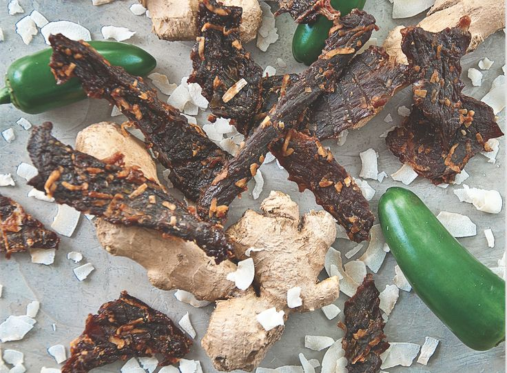 Spicy Thai Coconut Ginger Jerky