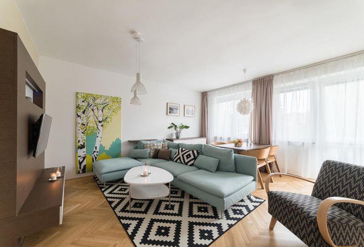 Inspirace obývací pokoj - Realizace