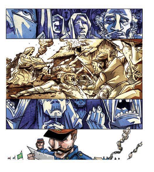 A Revolta de Canudos É a história real do arraial de Canudos, construído no sertão  da Bahia no século XIX  a arrasado pelos soldados da...