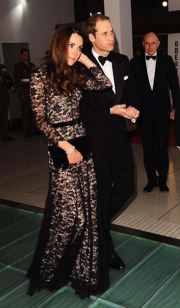 Kate Middleton uhhhhh her dress.