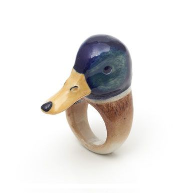 Duckring: Museums Drake, Museums Shops, Ducks Awesome, Loon Ducks, Ducks Rings, Drake Rings, Bold Rings, Awesome Things, Rings Size