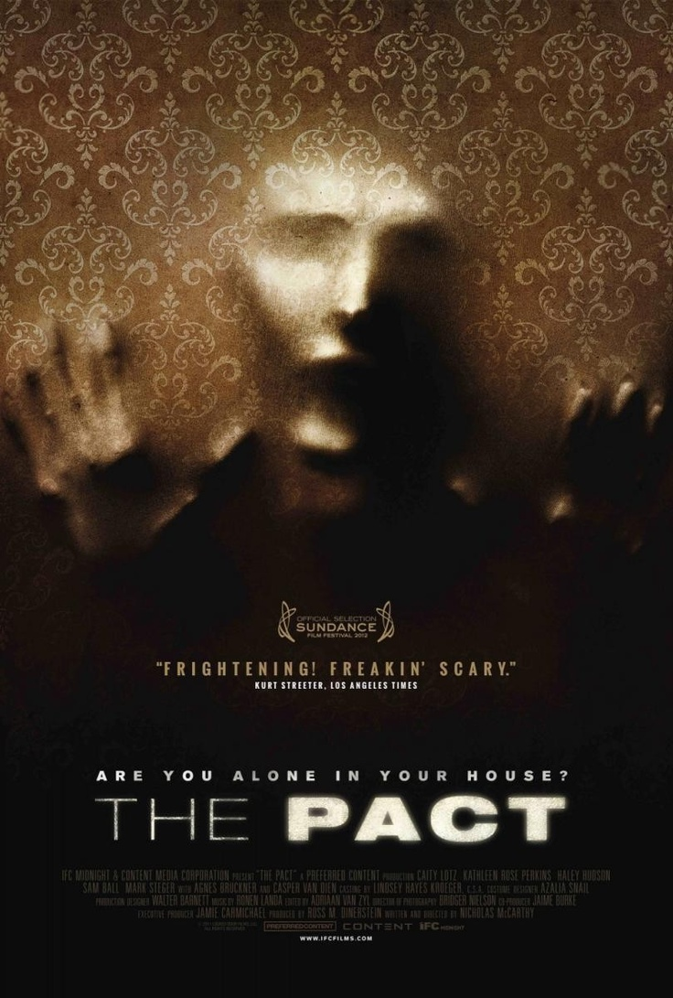 The Pact amazing! Pact, Ghost movies, 2012 movie