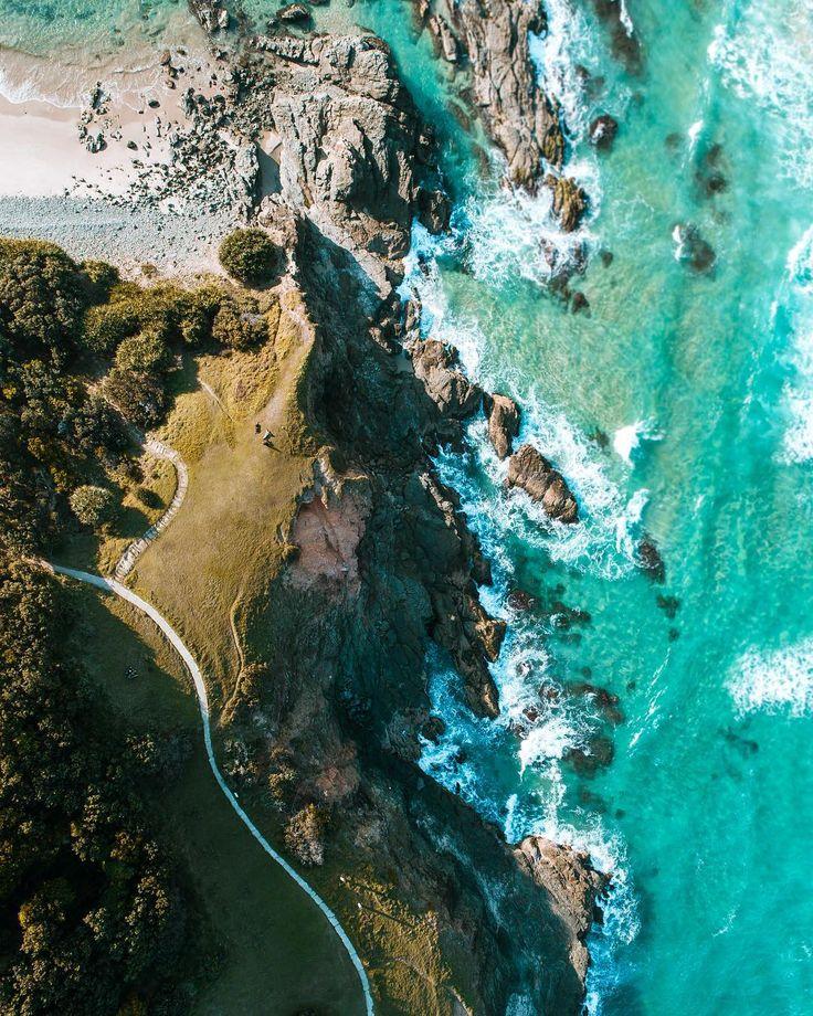 Byron Bay, New South Wales | photo @scottbdrone