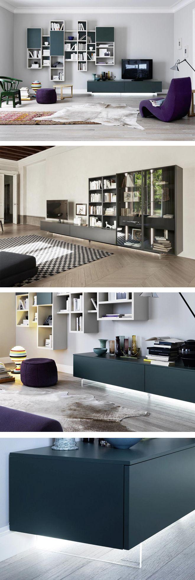 Der Moderne TV Sockel Transparent Für Lowboards Von Livitalia. #Sockel  #Lowboards #tranparent