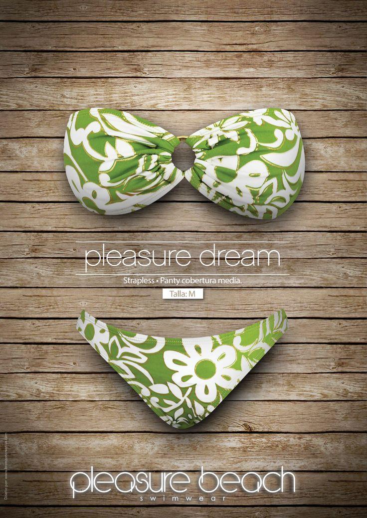 Pleasure dream Strapless – panty cobertura media