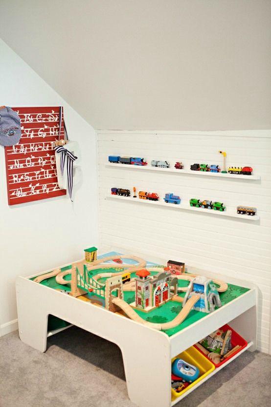 Estanter a ribba de ikea como expositor de juguetes en - Ikea estanterias ninos ...