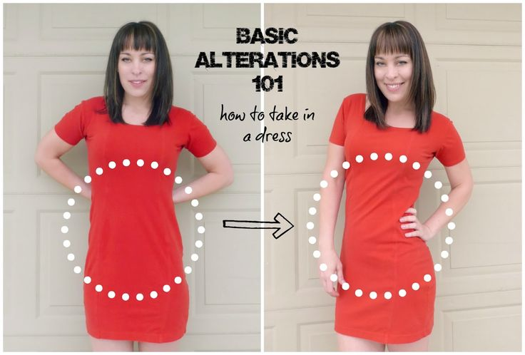 Good beginner sewing lesson, I Love this easy tutorial! Clothing Alteration 101: Taking in the Sides