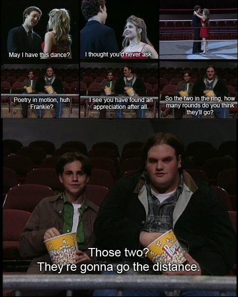 Boy meets world and a rocky reference?! Can it get better?!