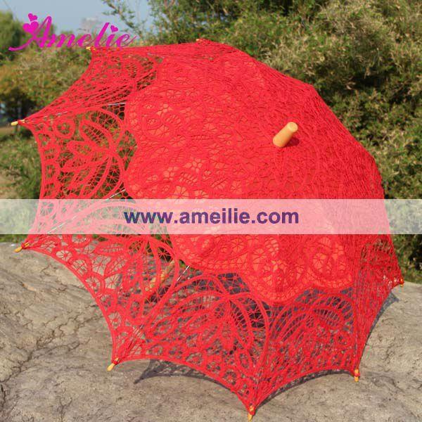 Favores Do Casamento Guarda-chuva vermelho