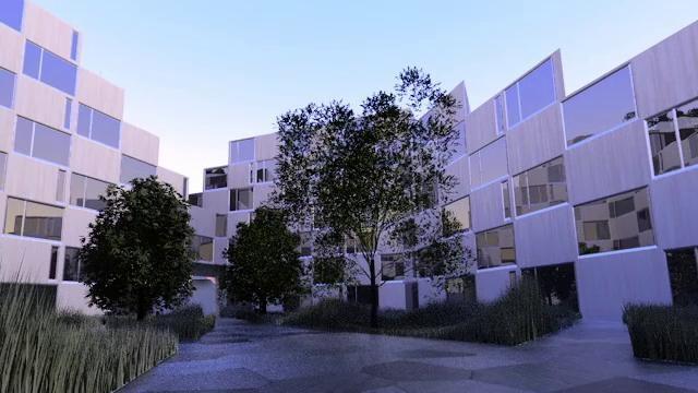 architectural flytrough