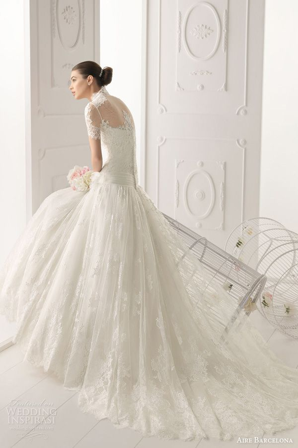 Aire Barcelona #gorgeous #wedding #dress