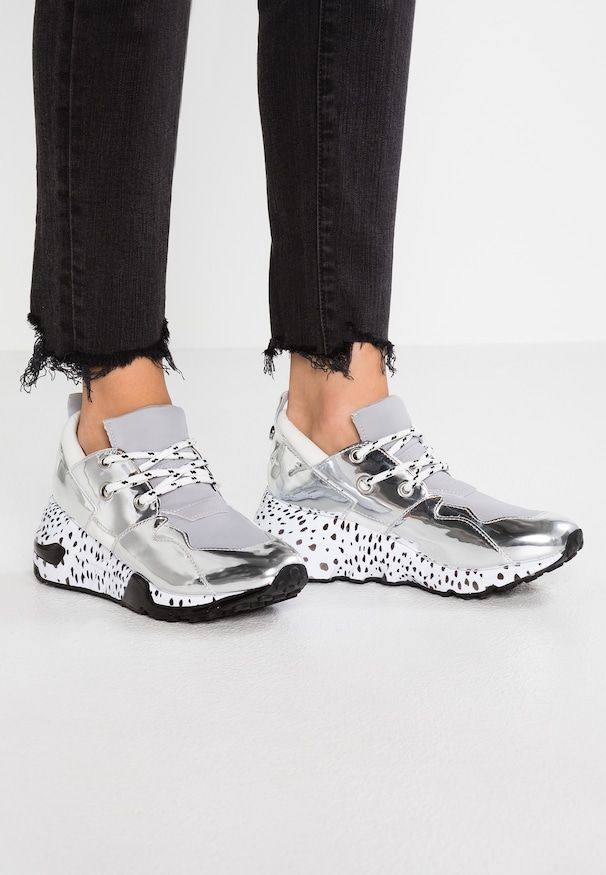 2dc4af25 CLIFF - Trainers - silver | Trainers/Sneakers/Racers/Plimsolls | Steve  madden sneakers, Sneakers, Sneakers fashion