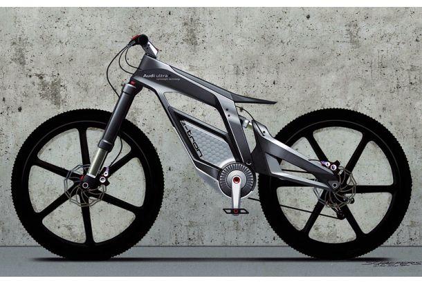 坂道をスイスイ登れる電動アシスト自転車が登場してから約20年。カーボンファイバーによる軽量化を図った、未来感たっぷりの電動自転車がAudiから発表されています。その名も「e-bike」。 なんたって、スペックがド迫力級。最大トルクがガソリンエンジン自動車でいうところの2500ccに相当し、最高速度は時速80kmも出ます...