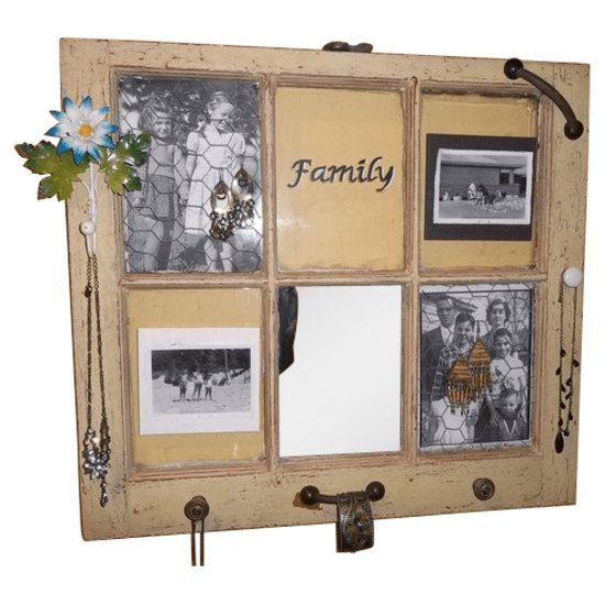 Old Window Repurposed into Jewlery / by ValuePricedAmenities, $75.00