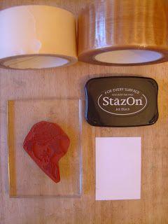 The Technique Zone: Tape Lift Stamping Technique