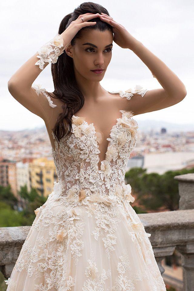 68 besten Milla Nova 2017 Bilder auf Pinterest | Hochzeitskleider ...