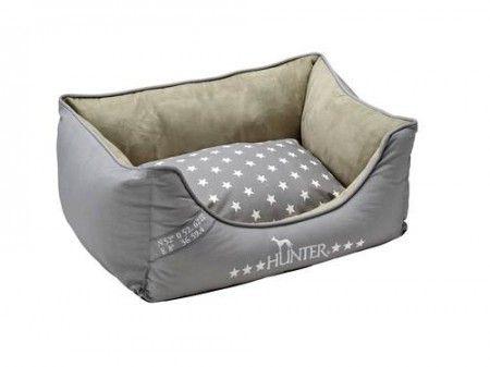 Kaunis Hunter , silver käsitelty koiran peti käännettävällä tyynyllä.