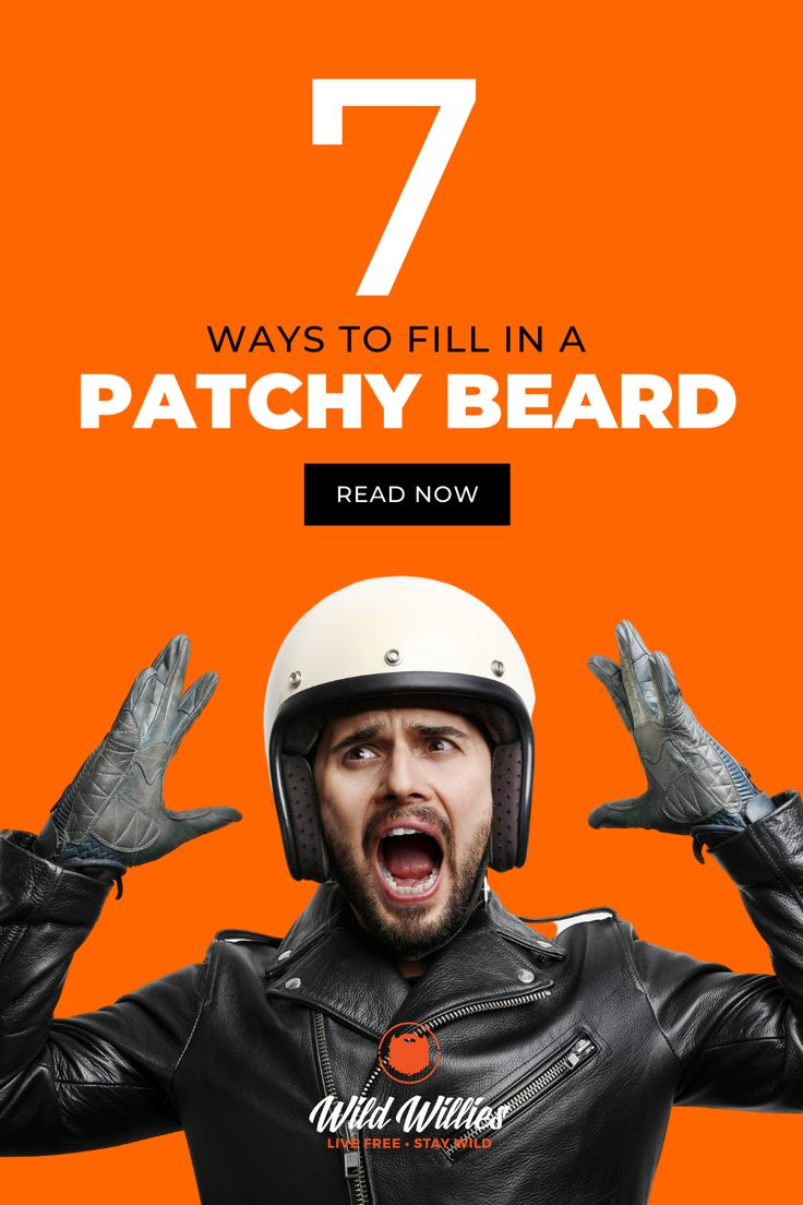 7 common reasons behind your patchy beard find your