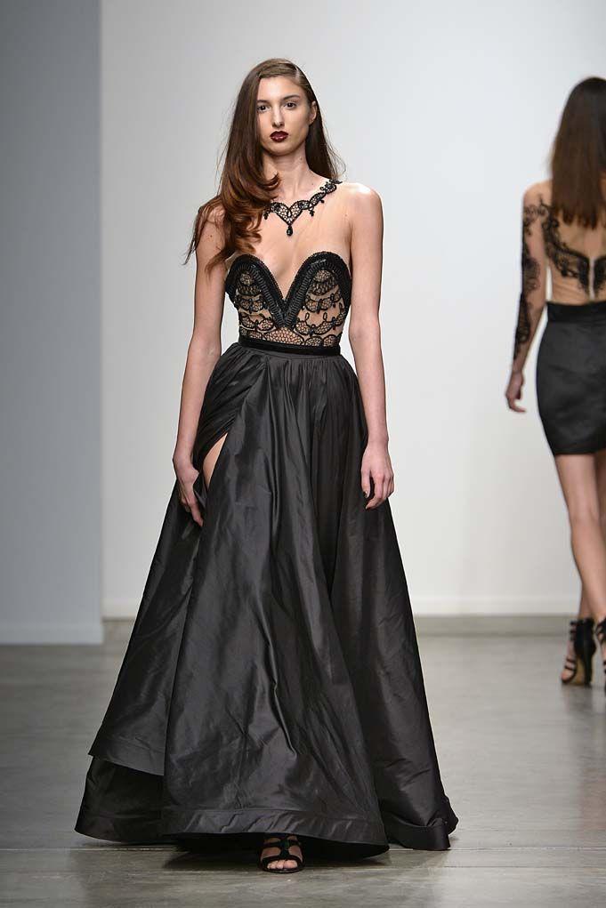 Philippa Galasso Fall/Winter 2014/15 New York Fashion Week runway