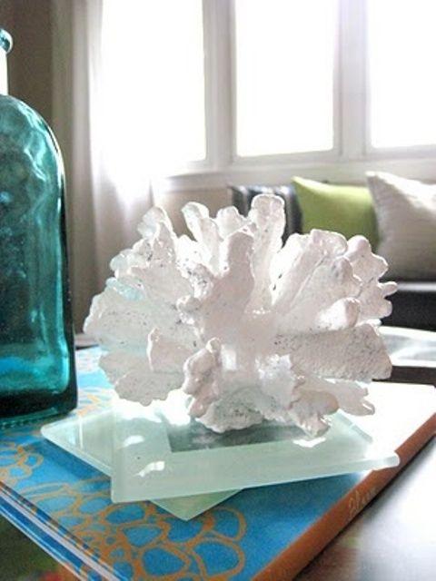 Sea coral home decor