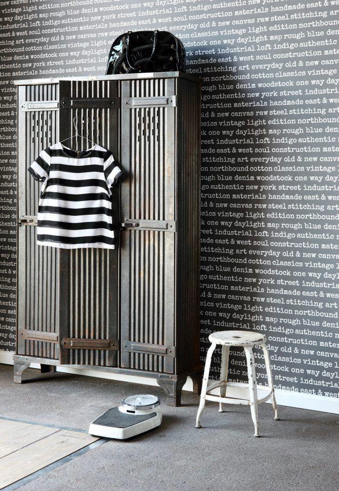 behang - Esta home - woorden - zwart wit - black & white - words