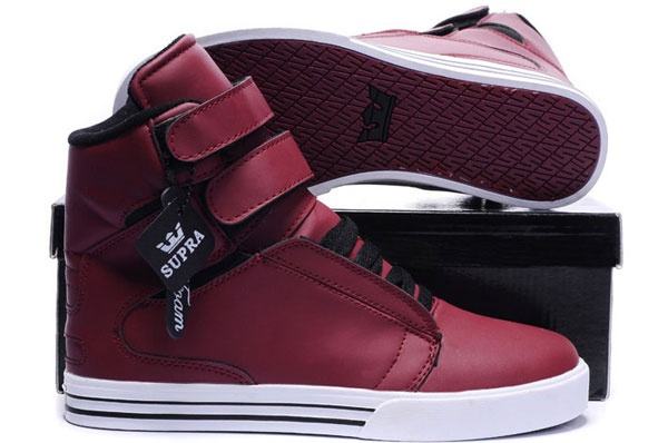 Kid's Supra Shoes Red