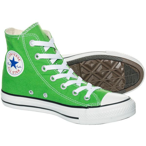 converse shoes high tops. converse hi top boots (jungle green) ($68) ❤ liked on polyvore featuring shoes high tops