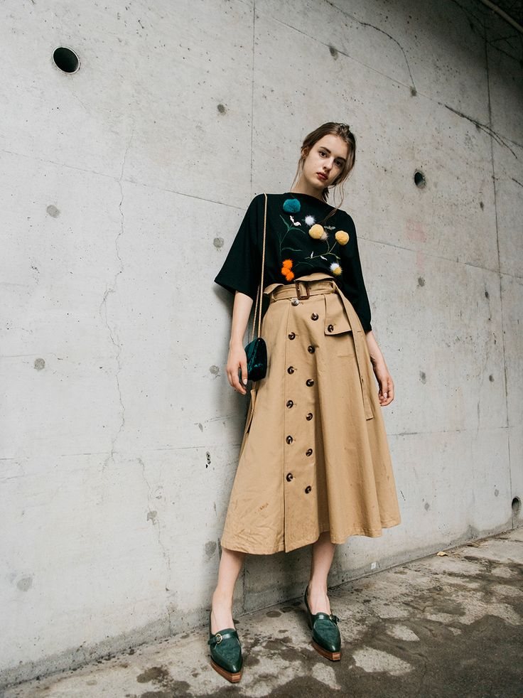 benefit1 トレンチスカート