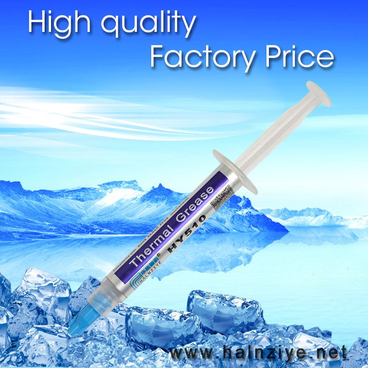 HY510 gray thermal grease compound paste for CPU&GPU heat sink  tube 3g with free shipping cost