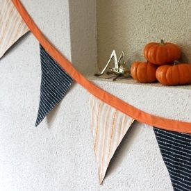 An easy Halloween sewing project.