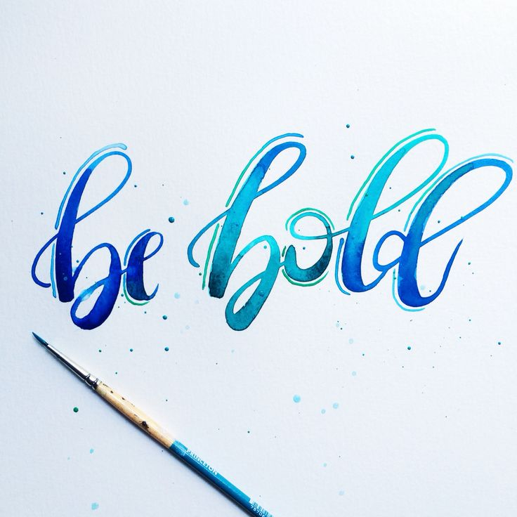 #HandLettering by Jenn Gietzen of Write On! Design // #WriteOnDesign